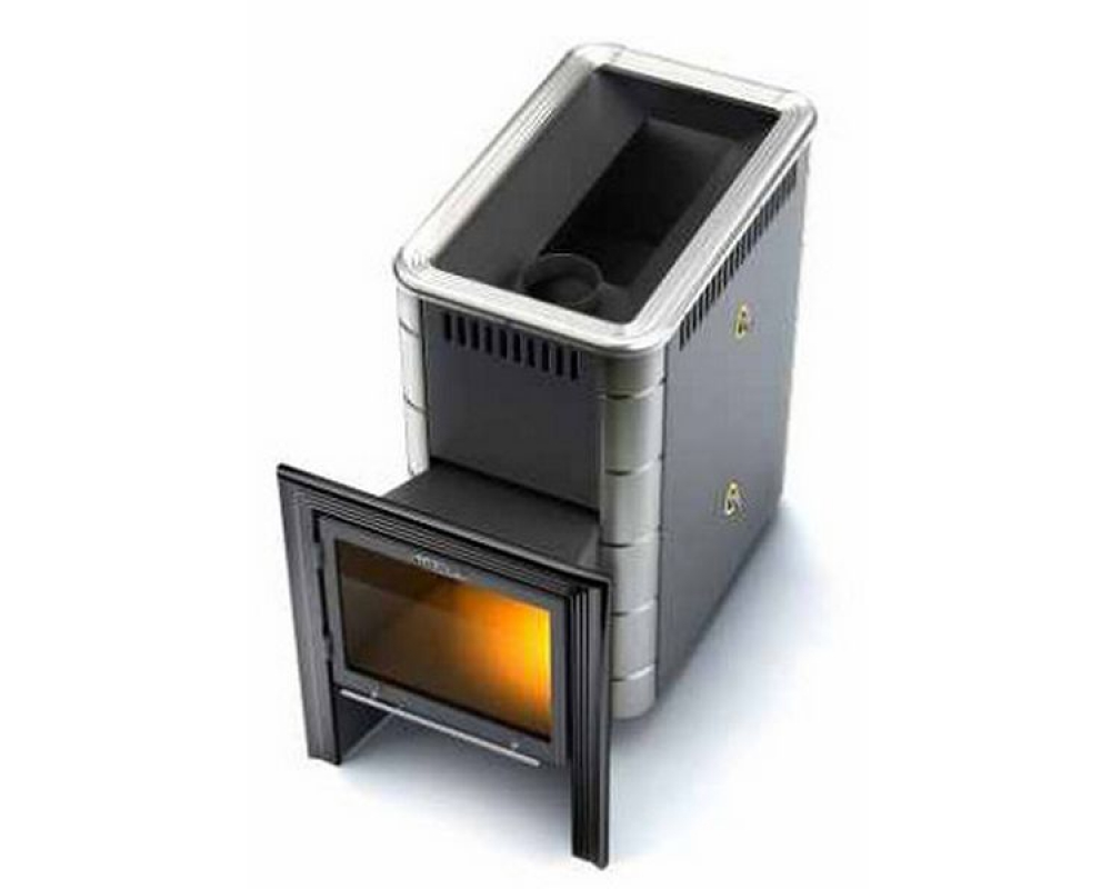 Печь банная с теплообменником